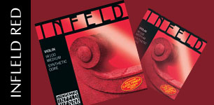 Infleld Red violin strings